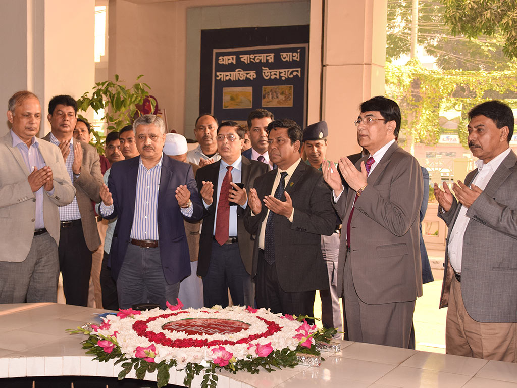 S.M. Ghulam Farooque, Senior Secretary of Local Government Division visited LGED HQ on 12 December, 2018.