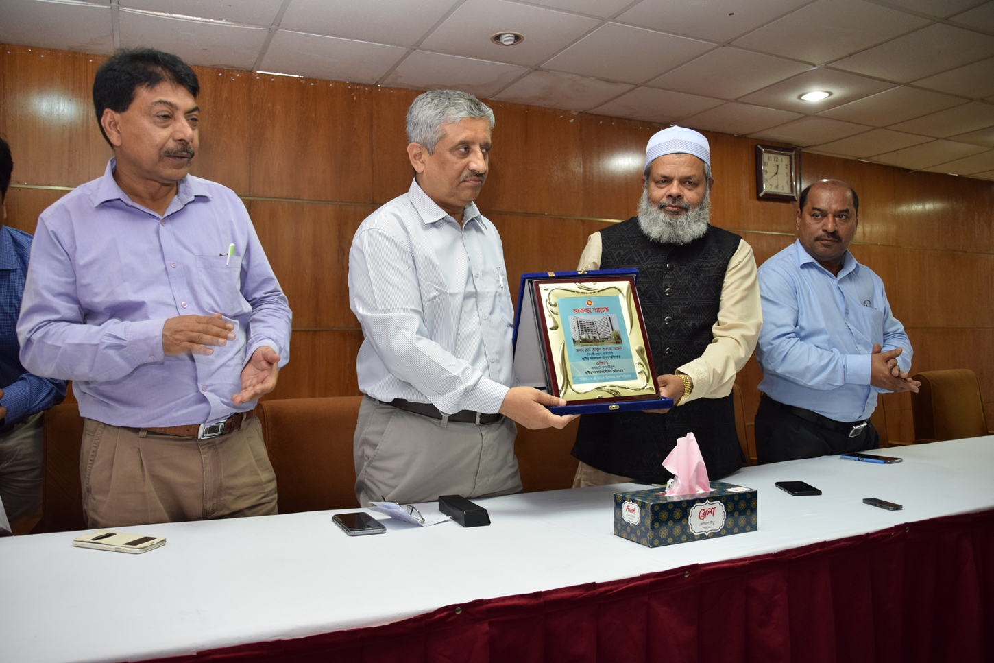 Farewell ceremony of Former Chief Engineer Md. Abul Kalam Azad on 09/05/2019.